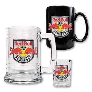 NY Red Bull 3 Piece Drinkware Set