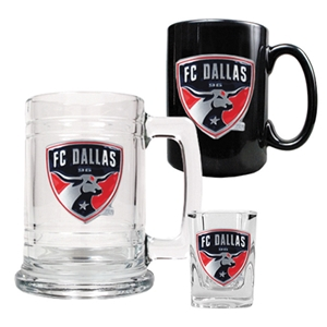 FC Dallas 3 Piece Drinkware Set