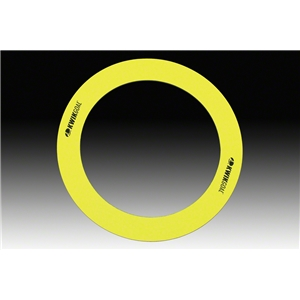Kwik Goal Flat Training Rings (Yellow)