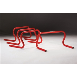 Kwik Goal 9 Speed Hurdles (Red)
