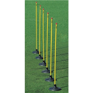 Kwik Goal Premier Coaching Sticks (6/Set)