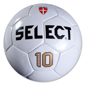 Select Numero 10 NFHS Match Soccer Ball (White)