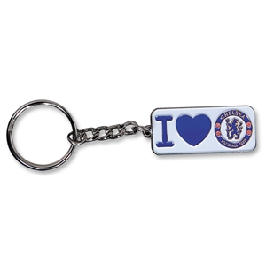 I Love Chelsea Key Ring