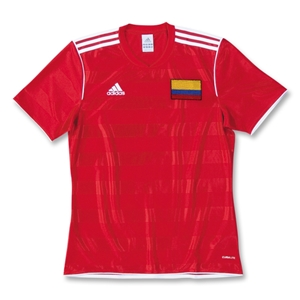 Colombia Tabella II Soccer Jersey (Red)
