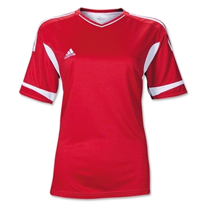 adidas Women's Campeon II Jersey (Red)