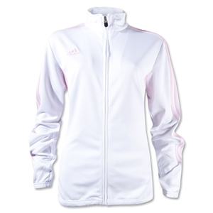adidas Tiro II Women's Training Jacket (White/Pink)