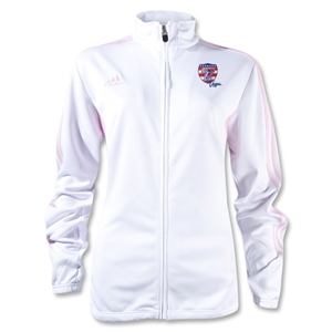adidas USA Sevens Women's Tiro II Training Jacket (White/Pink)