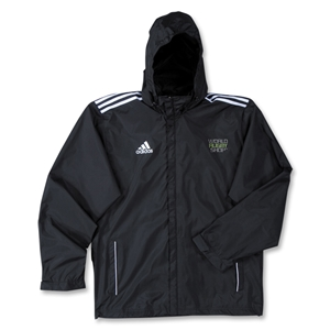 adidas World Rugby Shop Rain Jacket (Black)