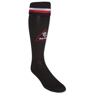 Soc|Com Aztec Soccer Custom Sock (Bk/Red/Wht)