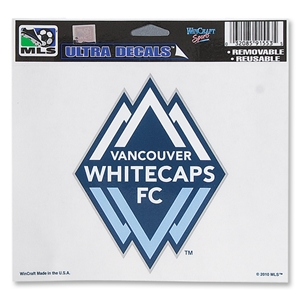 Vancouver Whitecaps FC 5x6 Ultra Decal