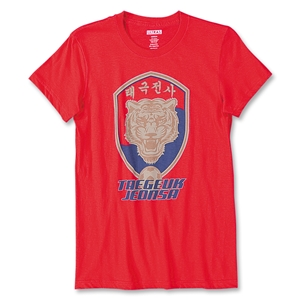 Objectivo Ultras Korea Tiger Women's T-Shirt (Red)
