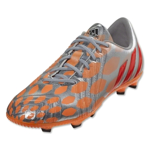 adidas Women's Predator Absolado Instinct FG (Metallic Silver/Infrared/Glow Orange)