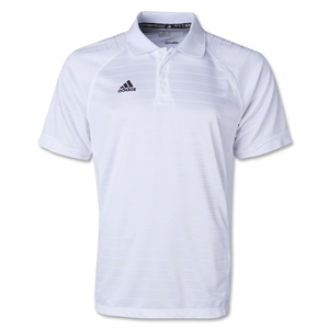 adidas Climalite Team Select Polo (White)
