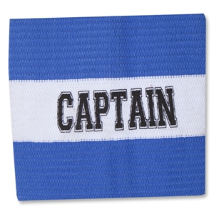 Captain Junior Striped Armband (Royal)