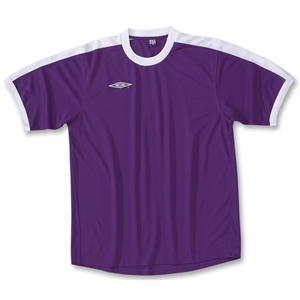 Umbro Manchester Soccer Jersey (Pur/Wht)