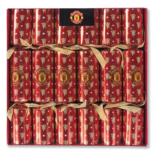 Manchester United Luxury Crackers-6 Pack