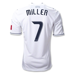 Vancouver Whitecaps 2012 MILLER Authentic Home Soccer Jersey