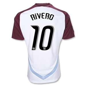 Colorado Rapids 10/11 RIVERO Away Soccer Jersey