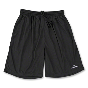Diadora Matteo Soccer Team Shorts (Black)