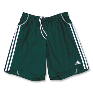 adidas Women's Equipo Soccer Shorts (Dark Green)
