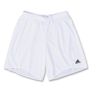 adidas Women's Equipo Soccer Shorts (White)
