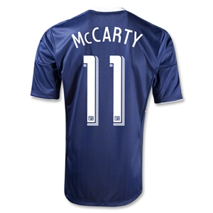 New York Red Bulls 2013 MCCARTY Authentic Secondary Soccer Jersey
