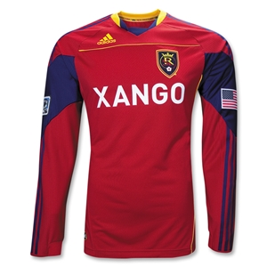 Real Salt Lake 2010 LS Authentic Home Soccer Jersey