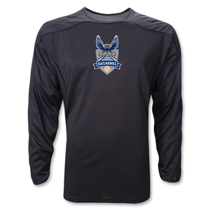 Carolina Railhawks LS Training Jersey (Black)