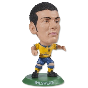 Arsenal Wilshere Away Mini Figurine
