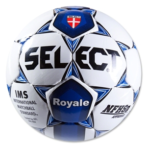 Select Royale NFHS Soccer Ball (White/Navy)