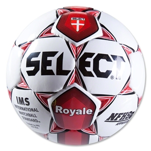 Select Royale NFHS Soccer Ball (White/Red)