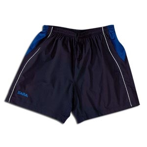 Xara International Soccer Shorts (Blk/Royal)
