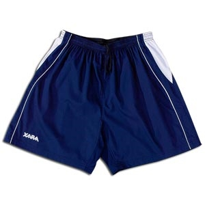 Xara International Soccer Shorts (Navy/White)