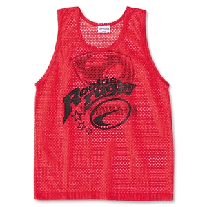 Rookie Rugby Scrimmage Vest 6-Pack (Red)
