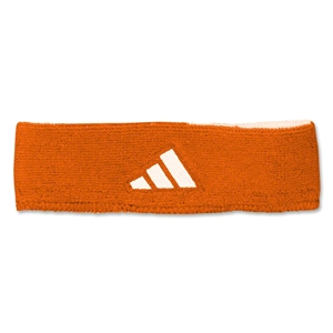adidas Interval Reversible Headband (Org/Wht)