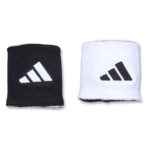adidas Interval Reversible Wristband (Blk/Wht)