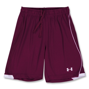 Under Armour Women's Strike Short (Maroon/Wht)