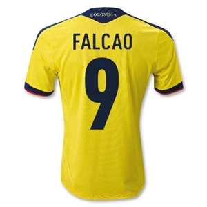 Colombia 11/13 FALCAO Home Soccer Jersey