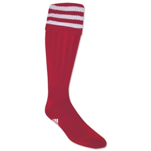 adidas 3-Stripe Socks (Sc/Wh)