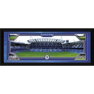 Chelsea 30x12 Framed Stamford Bridge Panoramic