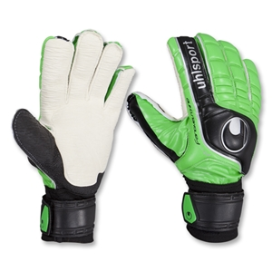 uhlsport Fangmaschine Hardground AG Goalkeeper Gloves (Flash Green/Black/Silver)