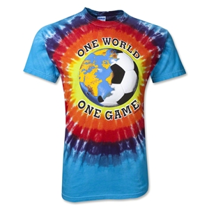 Tie Dye One World Soccer T-Shirt