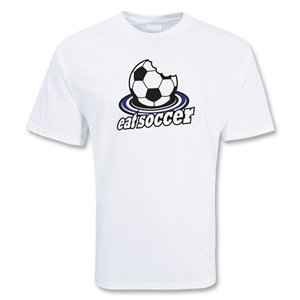 Eat Soccer T-Shirt (White)