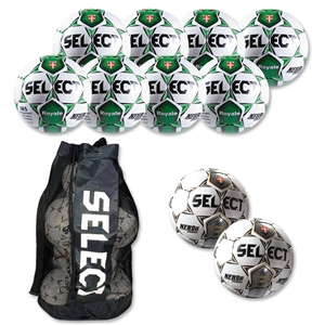Select Royale Soccer Ball Kit (Wh/Dgr)