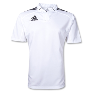 adidas Three Stripe III Rugby Jersey (White/Black)
