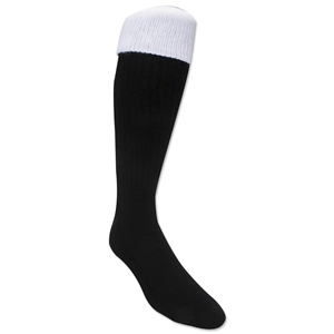 365 Turndown Rugby Socks (Black/White)