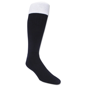 365 Turndown Rugby Socks (Navy/White)