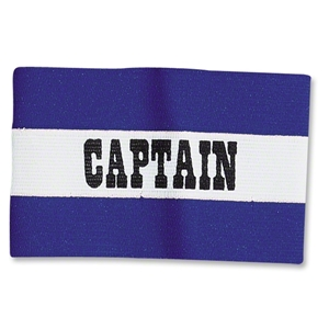Classic Captain's Armbands (Royal/White)