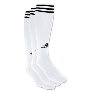 adidas Copa Zone Cushion Irreg 3 Pack (Wh/Bk)