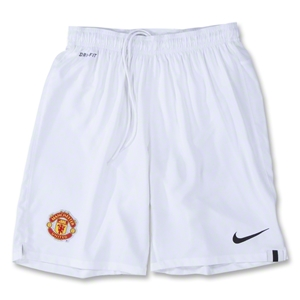 Manchester United 11/12 Home Youth Soccer Shorts